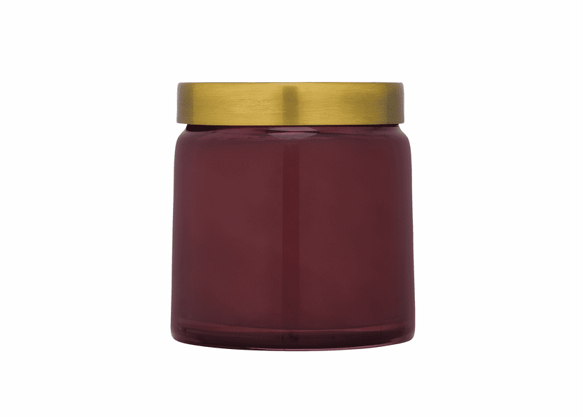 _DISCONTINUED - Cedar Rose 17 oz. Tinted Glass Jar Candle by Aspen Bay Candles