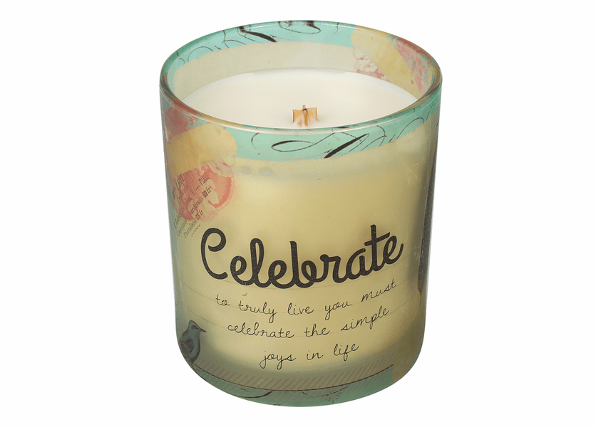 _DISCONTINUED - Celebrate Inspirational Collection 10 oz. Jar WoodWick Candle