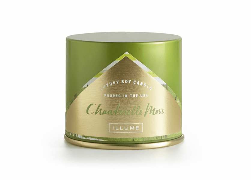 _DISCONTINUED - Chanterelle Moss Vanity Tin Illume Candle