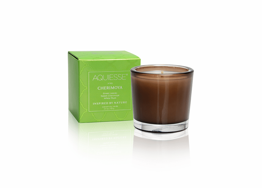 _DISCONTINUED - Cherimoya Soy Votive by Aquiesse