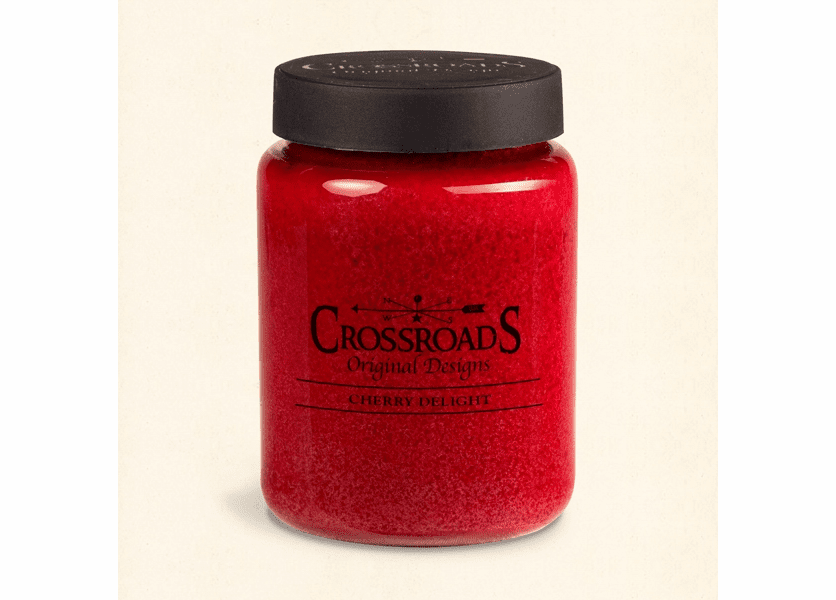 _DISCONTINUED - Cherry Delight 26 oz. Crossroads Candle