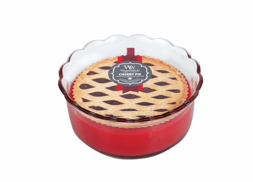 _DISCONTINUED - Cherry Pie WoodWick Pie Collection Candle