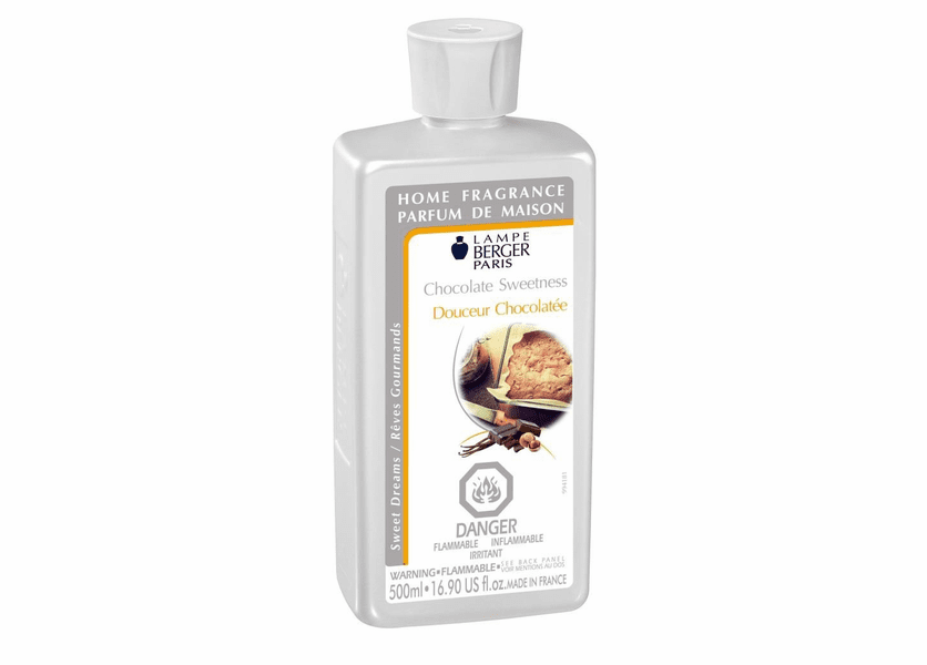 _DISCONTINUED - Chocolate Sweetness 500ML Fragrance Oil by Lampe Berger