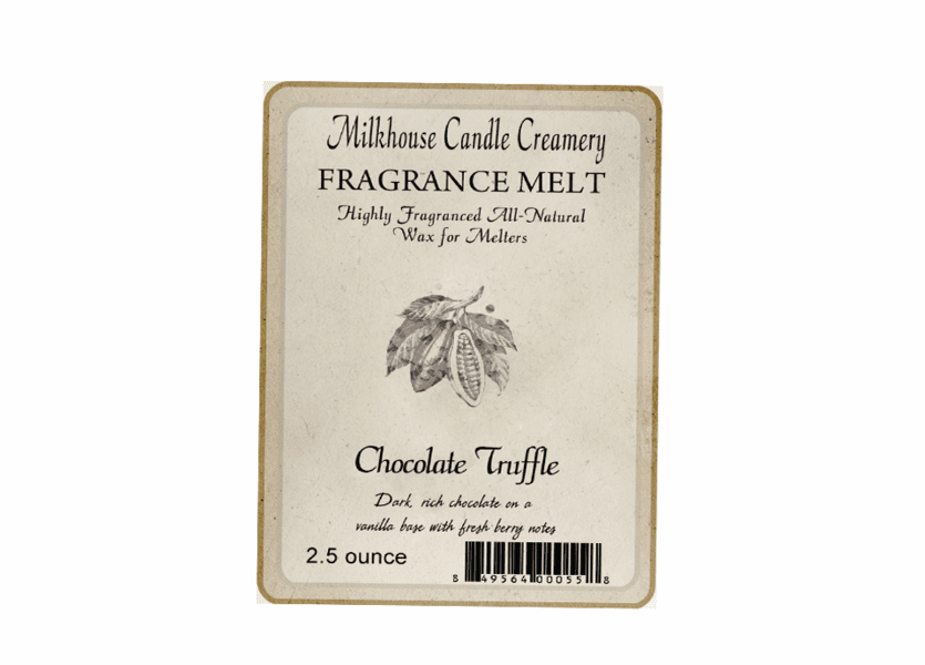 _DISCONTINUED - Chocolate Truffle Fragrance Melt by Milkhouse Candle Creamery