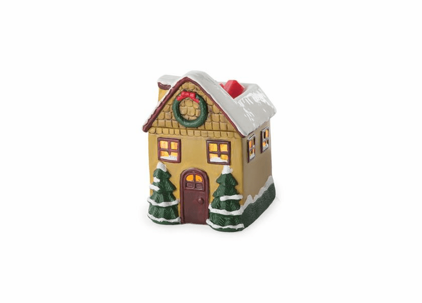 _DISCONTINUED - Christmas Cottage Holiday Fragrance Warmer