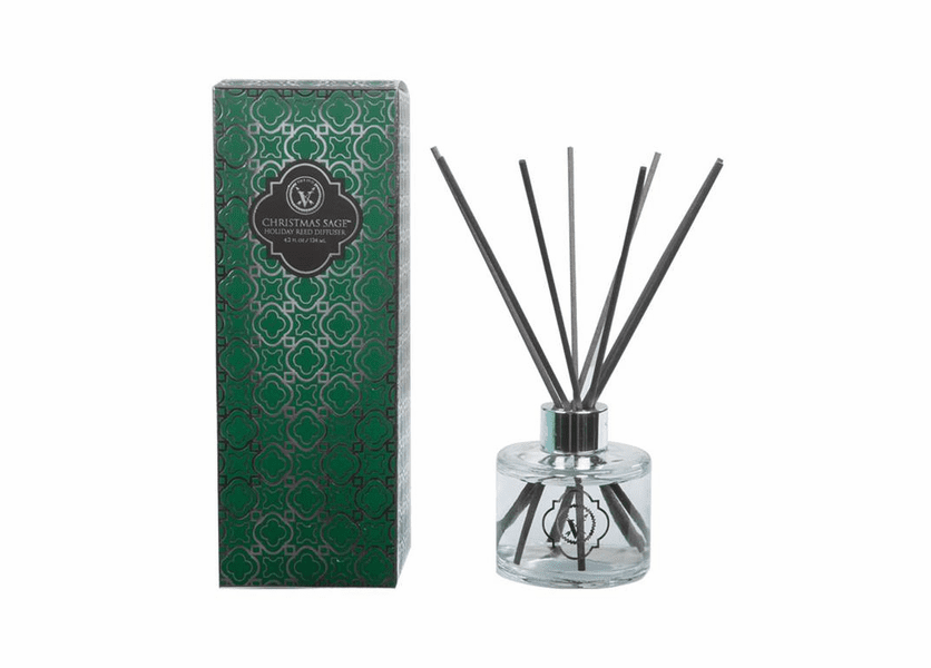 _DISCONTINUED - Christmas Sage Holiday Reed Diffuser Votivo Candle