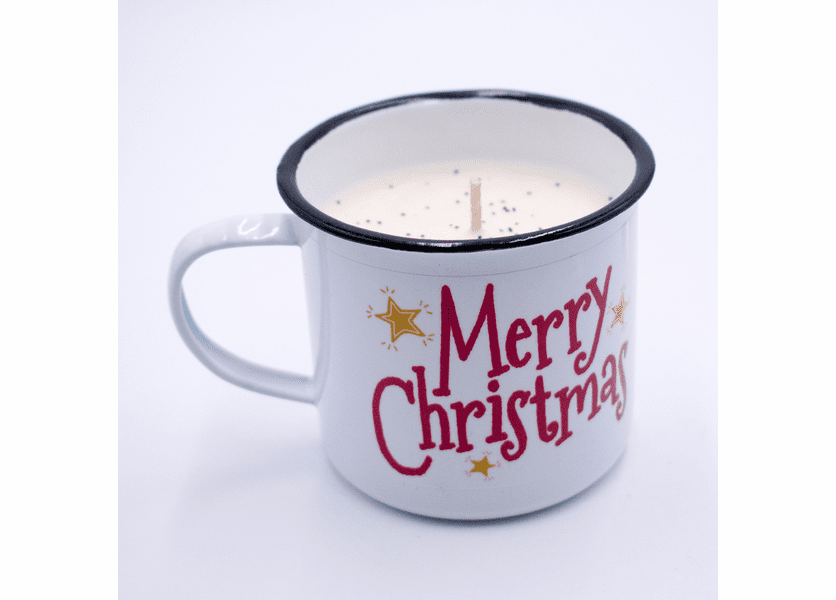 _DISCONTINUED - Christmas Thyme Festive Holiday Swan Creek Medium Mug Candle