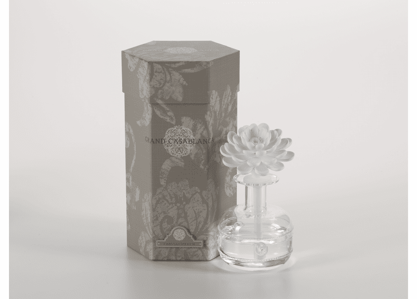 _DISCONTINUED - Chrysanthemum Grand Casablanca 6.8 oz. Porcelain Diffuser by Zodax