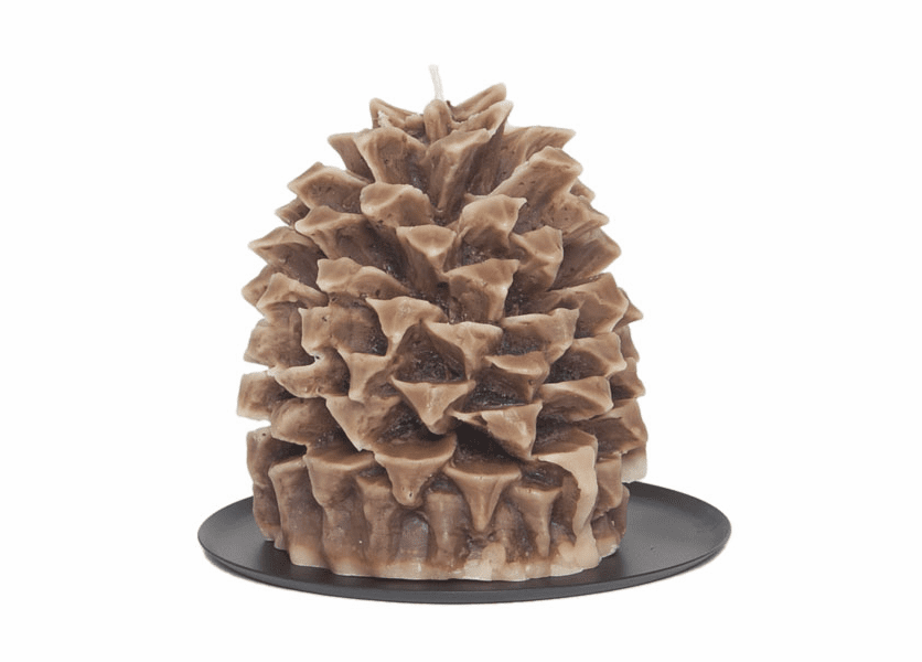 _DISCONTINUED - Cinnamon Beignet Pineapple Pinecone Candle by Aspen Bay Candles
