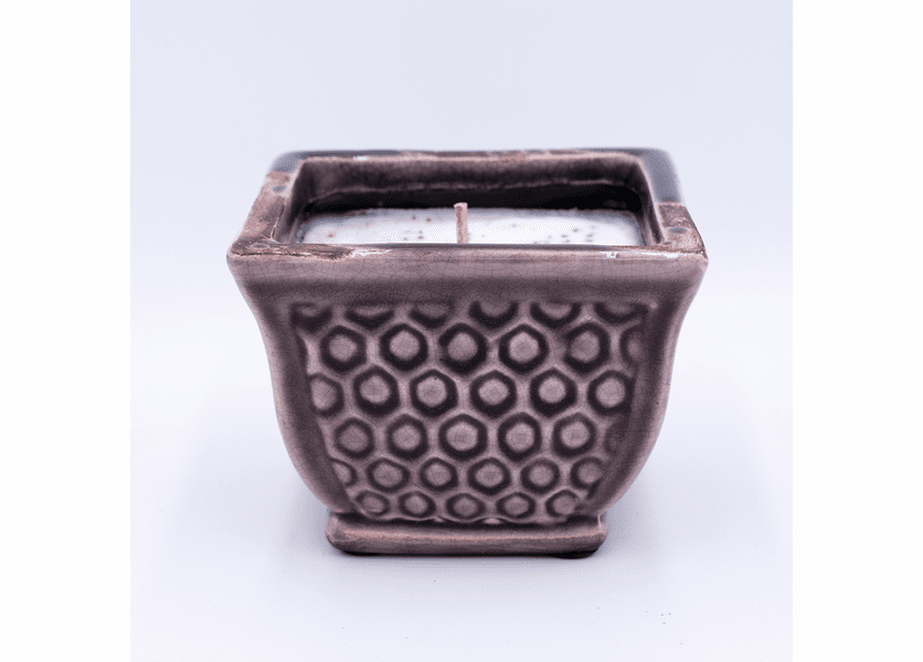 _DISCONTINUED - Cinnamon Buns French Farmhouse Square Pot Swan Creek Candle