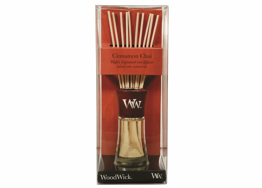_DISCONTINUED - Cinnamon Chai WoodWick 2 oz. Reed Diffuser