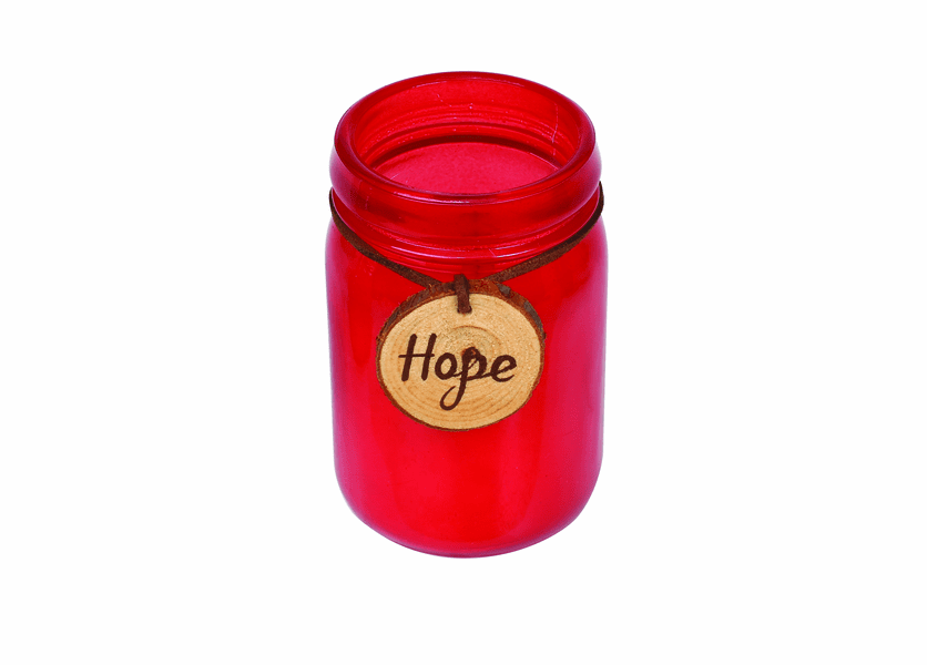 _DISCONTINUED - *Cinnamon Cheer Sentiment Jar WoodWick Candle