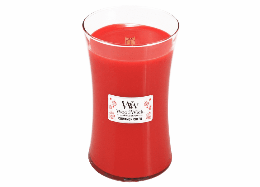 _DISCONTINUED - Cinnamon Cheer WoodWick Candle 22 oz.