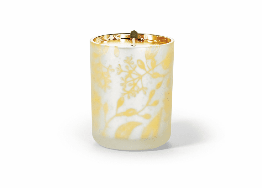 _DISCONTINUED - Cinnamon Clove 16 oz. Holiday Shimmer Glass Candle by Root