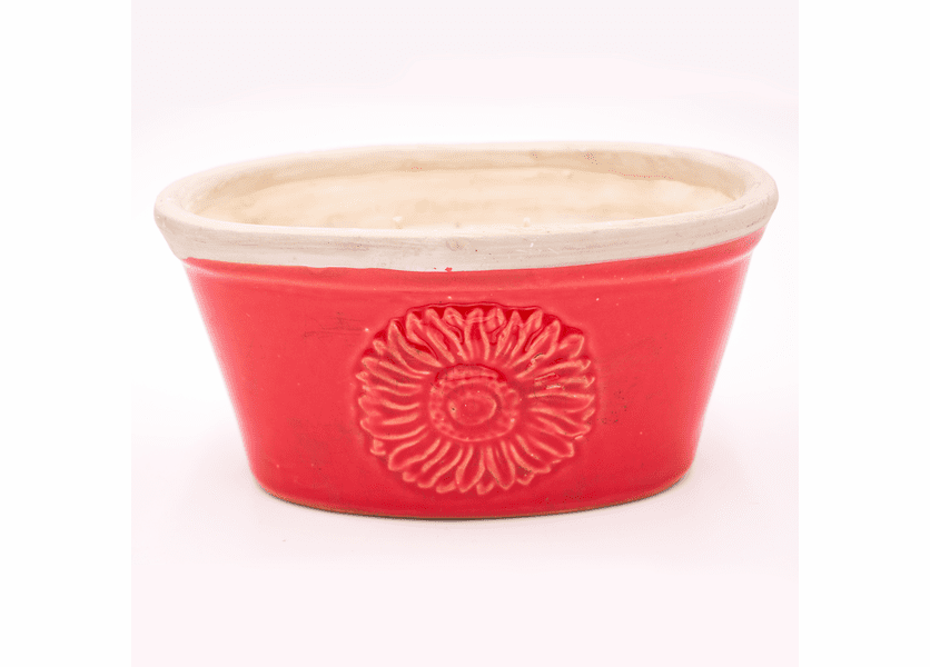 _DISCONTINUED - Cinnamon Hazelnut Latte Red Fiesta Window Box Swan Creek Candle