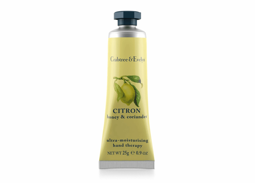 _DISCONTINUED - Citron, Honey & Coriander 25g Ultra-Moisturizing Hand Therapy by Crabtree & Evelyn