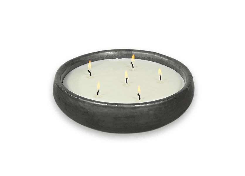 _DISCONTINUED - Citronella Saxon Gun Metal FlashPoint Candle