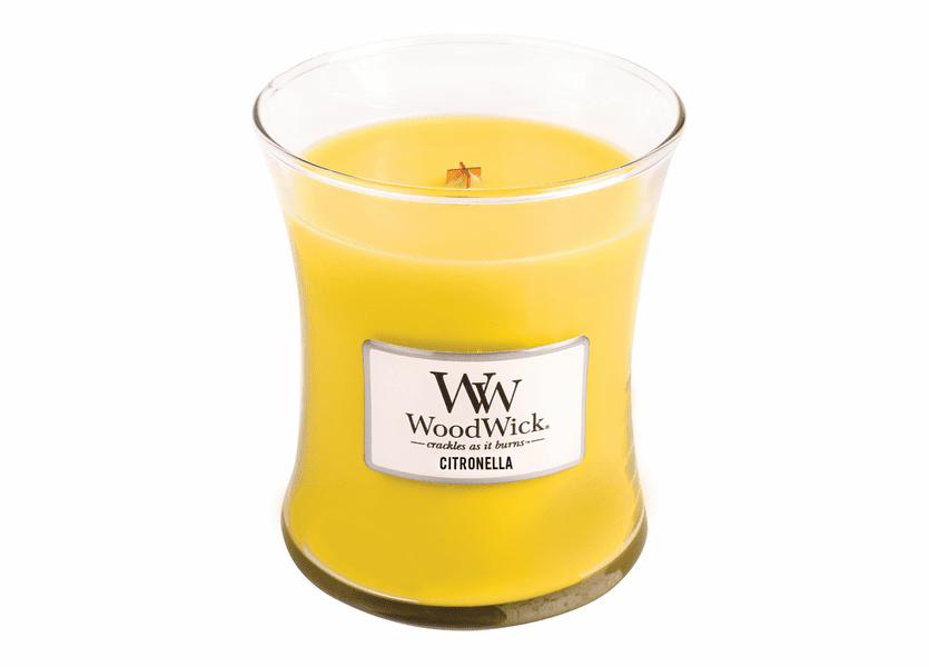 _DISCONTINUED - Citronella WoodWick Candle 10 oz.