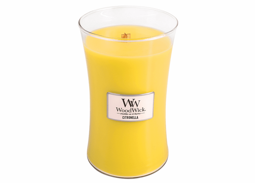 _DISCONTINUED - Citronella WoodWick Candle 22 oz.