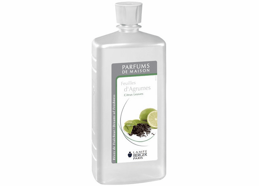 _DISCONTINUED - Citrus Leaves 1 Liter Fragrance Oil by Lampe Berger