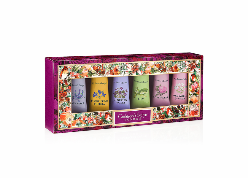 _DISCONTINUED - Classic Florals Sampler (Set of 6) - Holiday Collection by Crabtree & Evelyn