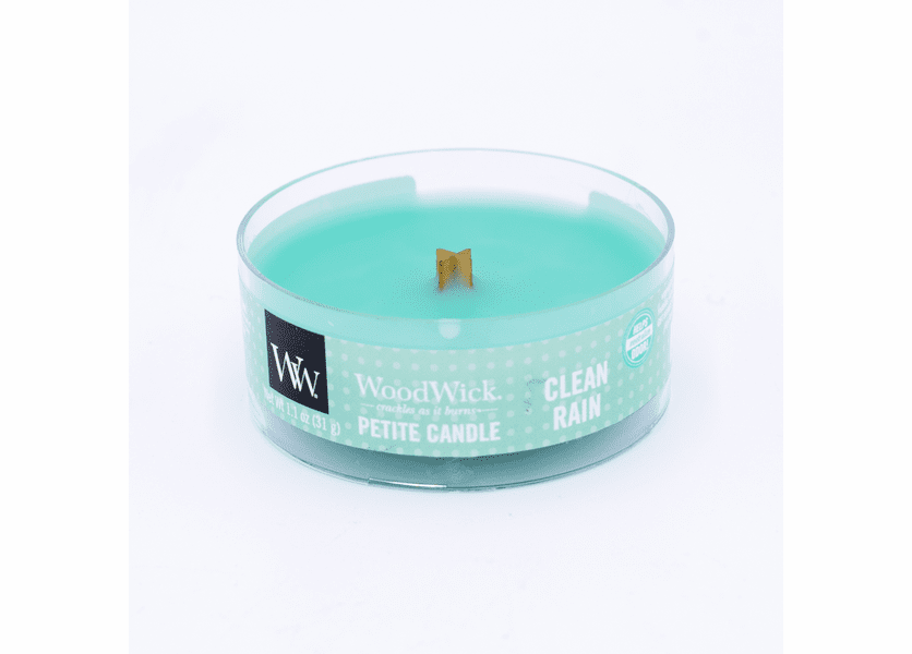 _DISCONTINUED - Clean Rain Petite WoodWick Candle