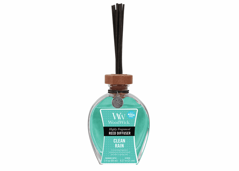 _DISCONTINUED - Clean Rain WoodWick 3 oz. Reed Diffuser