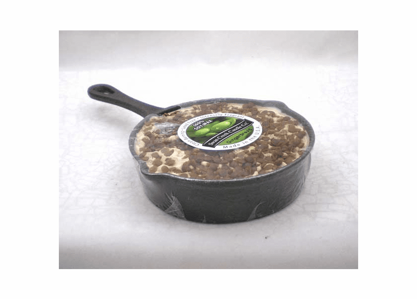 _DISCONTINUED - CLOSEOUT - Gingerbread Round Skillet Swan Creek Candle