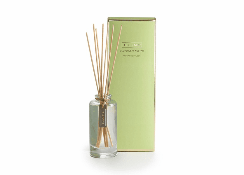 _DISCONTINUED - Cloverleaf Nectar Essential Reed Diffuser Illume Candle