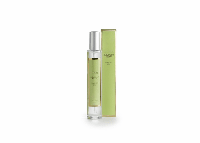 _DISCONTINUED - Cloverleaf Nectar Room & Linen Spray by Illume Candle