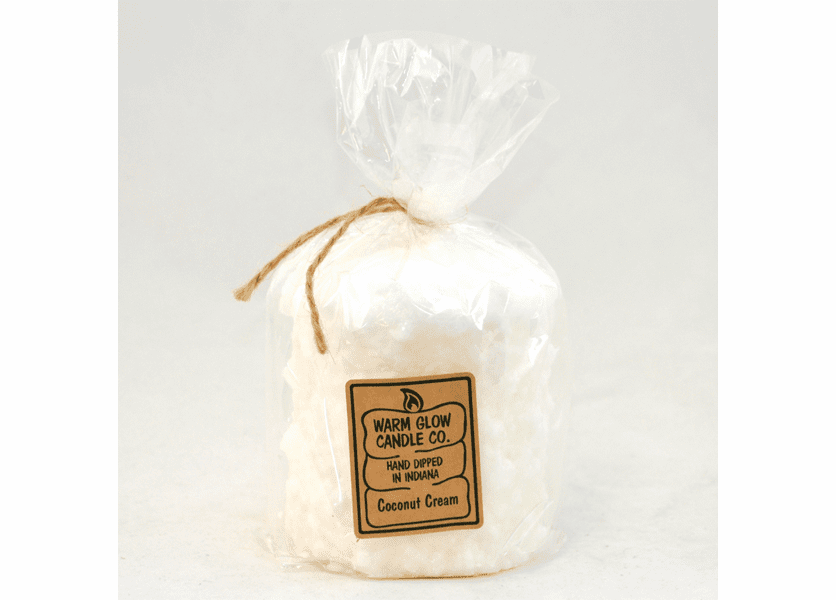 _DISCONTINUED - Coconut Cream Hearth Candle by Warm Glow Candles