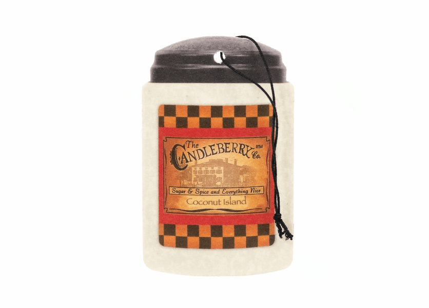 _DISCONTINUED - Coconut Island Fresh-Car-Go by Candleberry Candle
