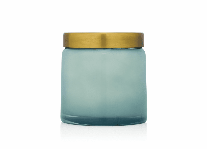 _DISCONTINUED - Coconut Waters 17 oz. Tinted Glass Jar Candle by Aspen Bay Candles