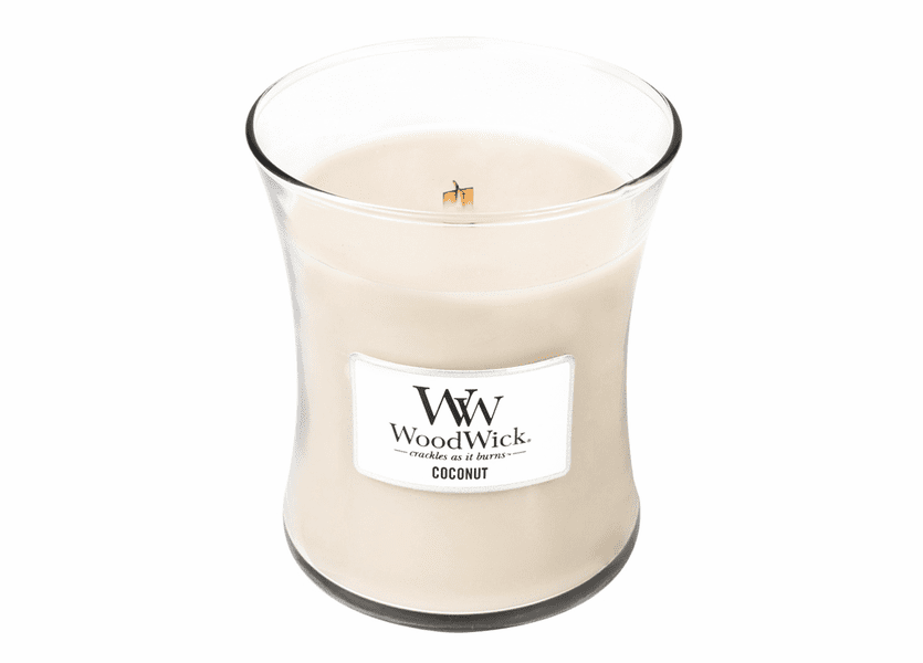 _DISCONTINUED - Coconut WoodWick Candle 10 oz.