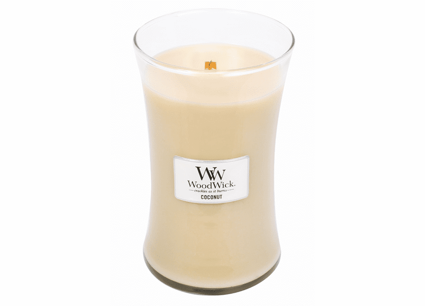 _DISCONTINUED - Coconut WoodWick Candle 22 oz.