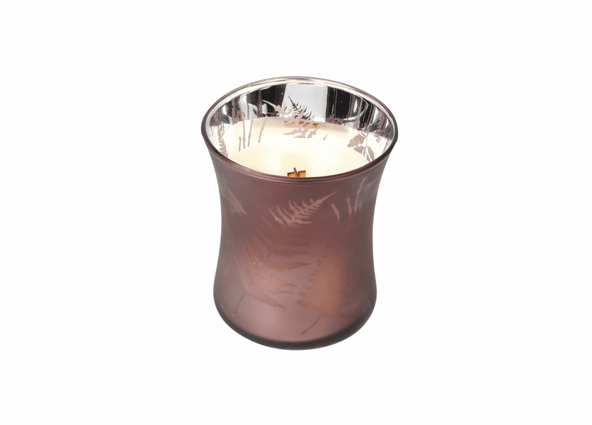 _DISCONTINUED - COMING SOON - *Fireside 10 oz. WoodWick Dancing Glass Candle