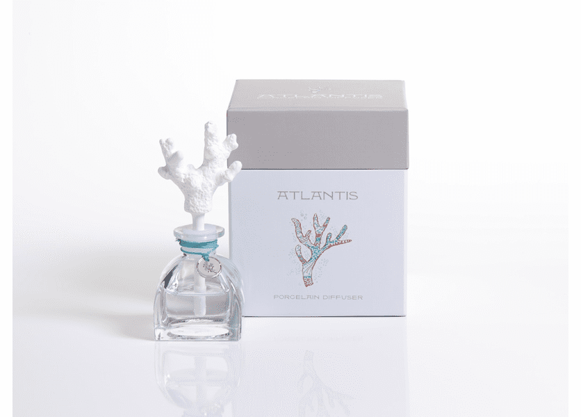 _DISCONTINUED - Coral Atlantis 1.36 oz. Porcelain Diffuser by Zodax