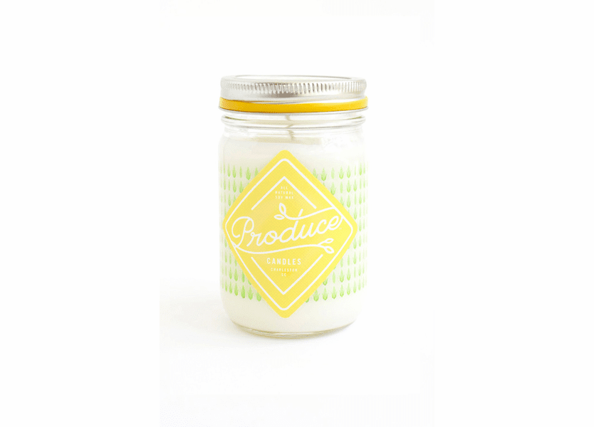 _DISCONTINUED - Corn 9 oz. Produce Candle