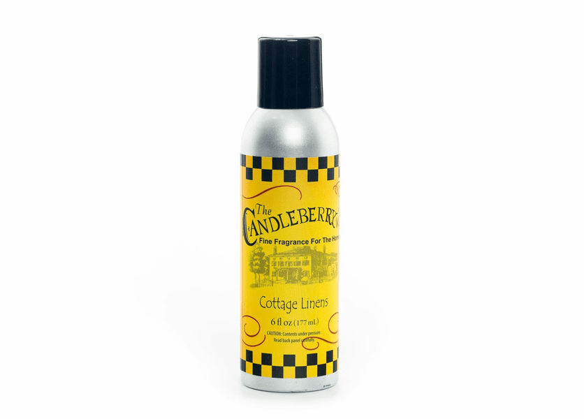 _DISCONTINUED - Cottage Linens 6 oz. Room Spray by Candleberry
