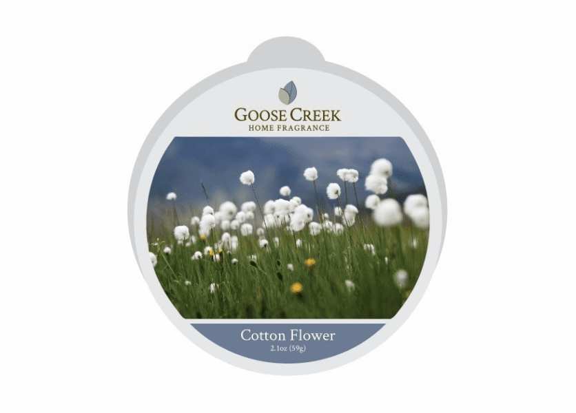 _DISCONTINUED - Cotton Flower Essential Series Goose Creek Wax Melt
