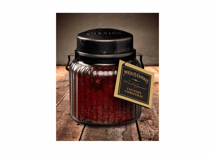 _DISCONTINUED - Country Christmas 18 oz. McCall's Indulgence Jar Candle