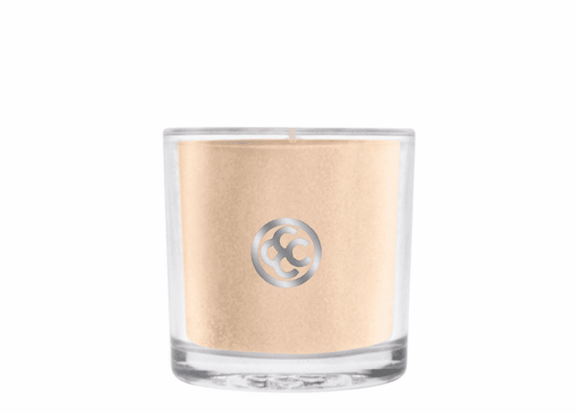 _DISCONTINUED - Cozy Cashmere Glass Votive Colonial Candle