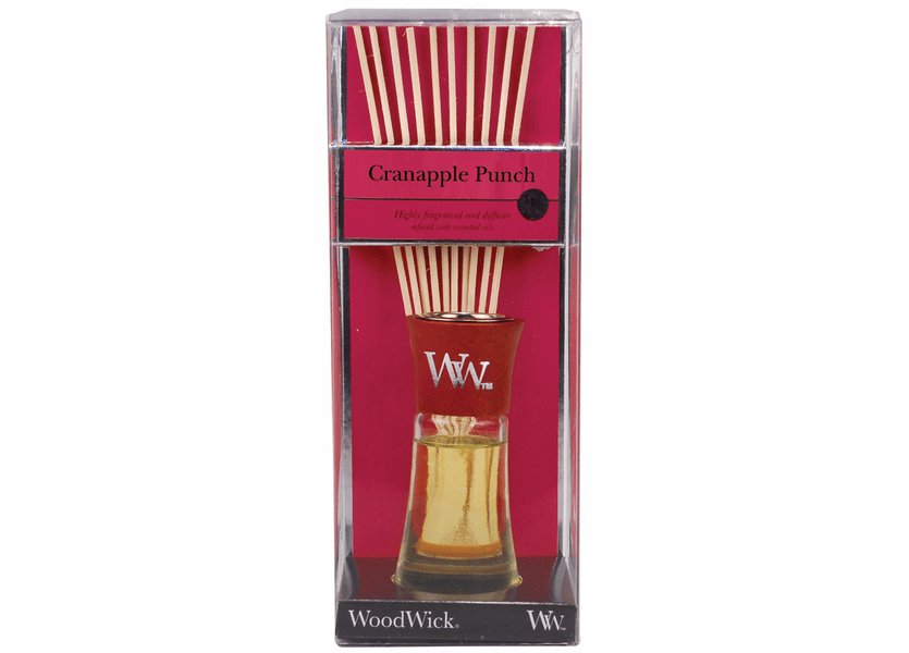 _DISCONTINUED - Cranapple Punch WoodWick 2 oz. Reed Diffuser