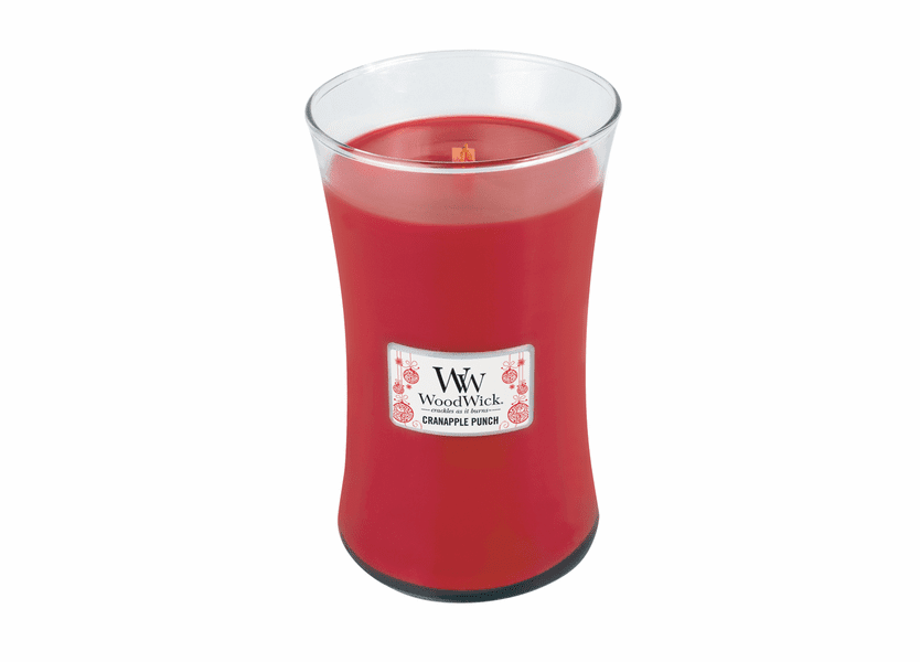 _DISCONTINUED - Cranapple Punch WoodWick Candle 22 oz.