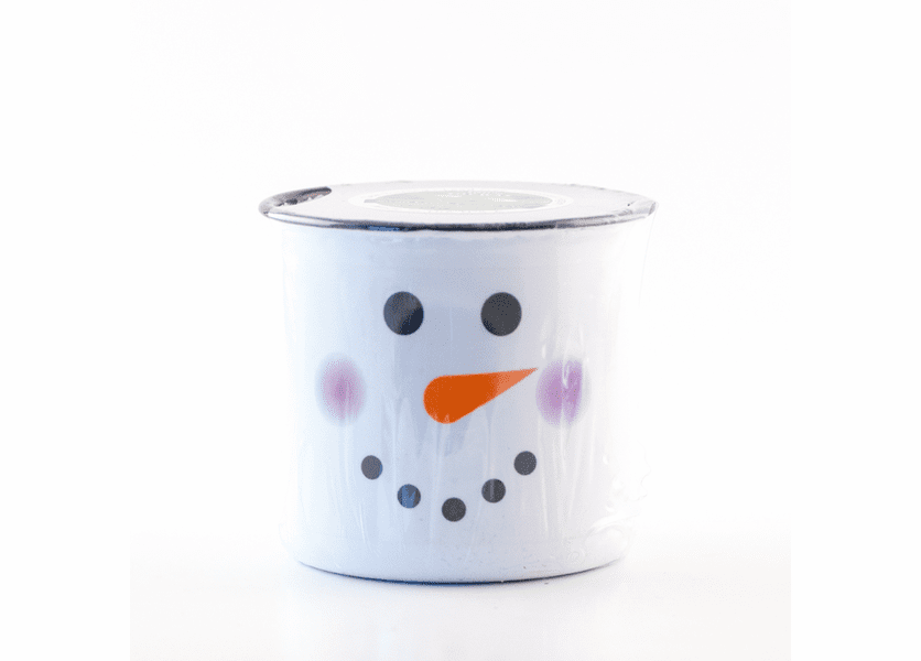 _DISCONTINUED - Cranberry Apple Crisp Festive Holiday Enamelware Small Canister Swan Creek Candle