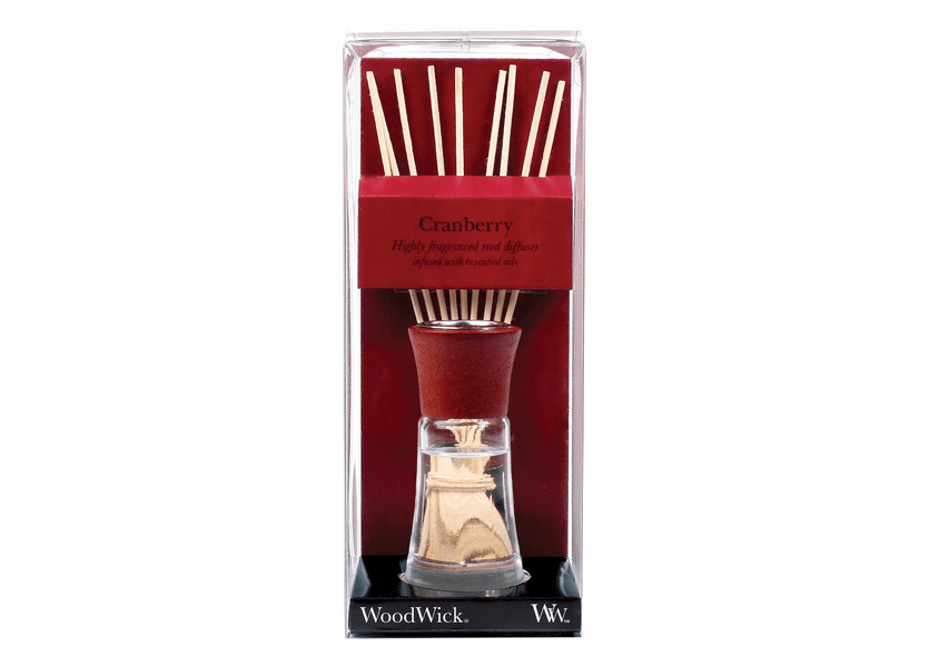 _DISCONTINUED - Cranberry WoodWick 2 oz. Reed Diffuser