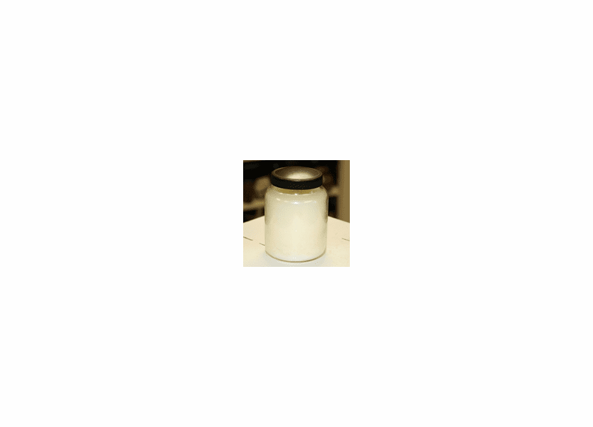 _DISCONTINUED - Creamy Vanilla 6 oz. Baby Jar Keeper's of the Light Candle by A Cheerful Giver