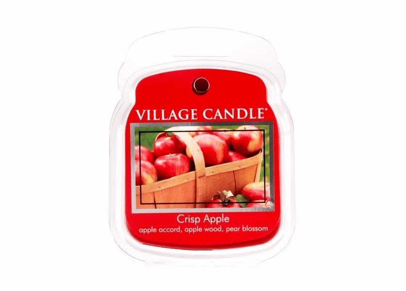 _DISCONTINUED - Crisp Apple Fragranced Wax Melts by Village Candles