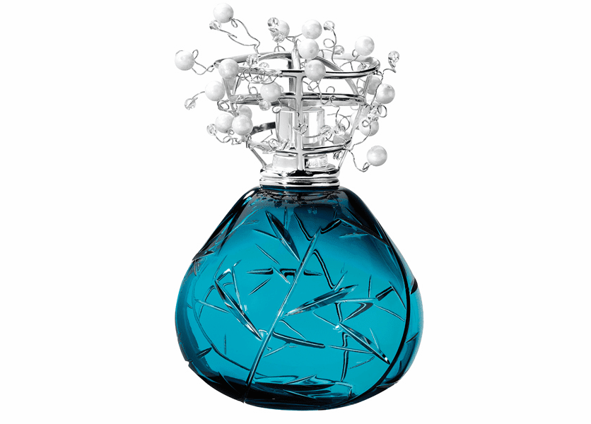 _DISCONTINUED - Cristal Blue Fragrance Lamp by Lampe Berger (Special Order)