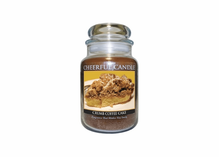 _DISCONTINUED_Crumb Coffee Cake 24 oz. Cheerful Candle by A Cheerful Giver